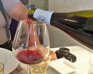 servir vin